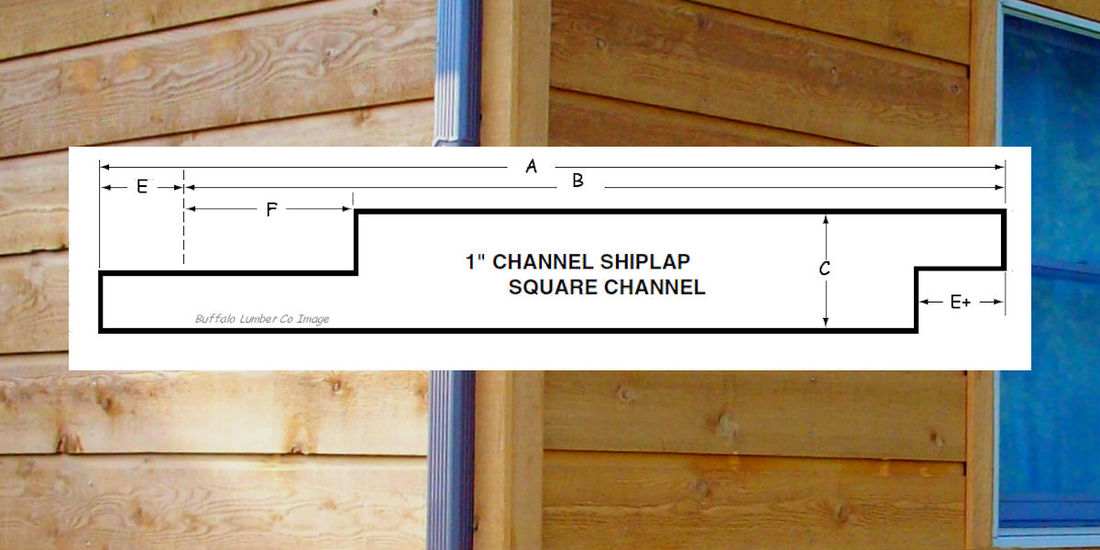 CHANNEL RUSTI LAP SIDING PATTERN DIAGRAM