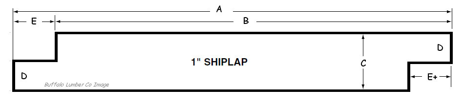 SHIP LAP PATTERN