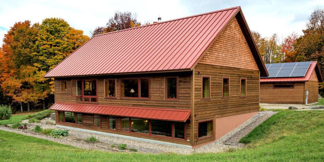 1X8 BEVEL CEDAR SIDING MILL SELECT FACTOR FINISHED WITH ECO STAIN TIMBEROX - HOME IN MASS
