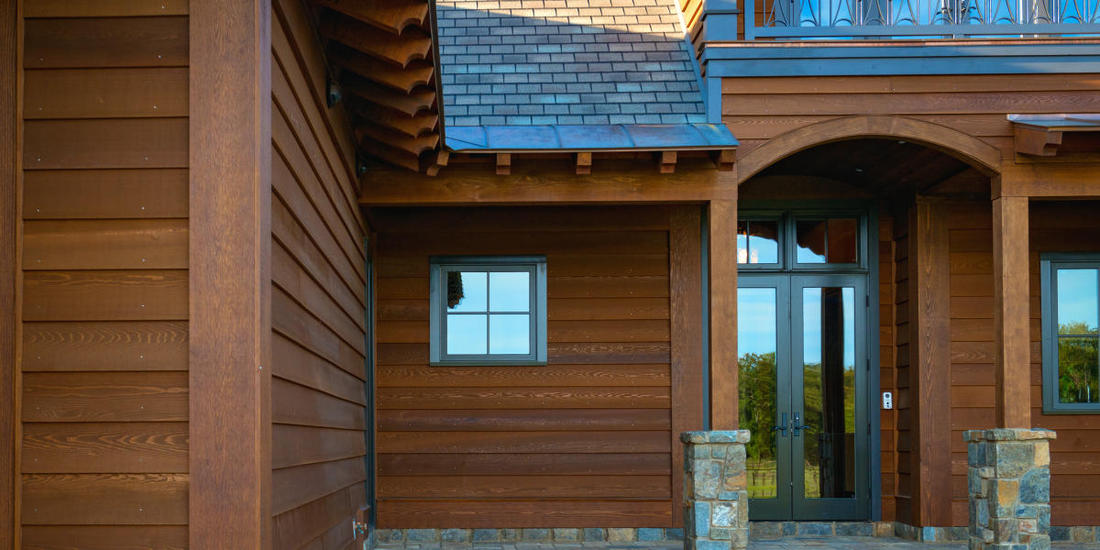 CLEAR CEDAR BEVEL SIDING HOME NEW YORK