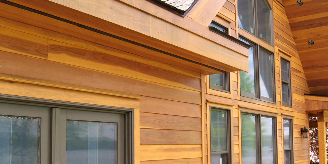 REDWOOD SIDING SAP B NEAR CLEAR GRADE  1X8 BEVEL PATTERN