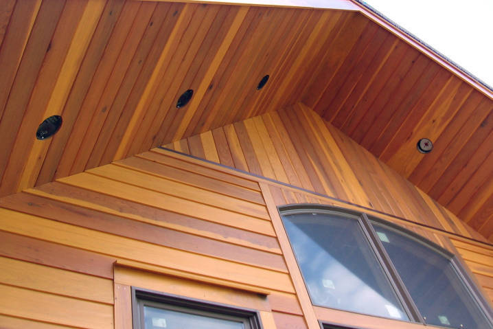 Redwood Siding SAP Wood