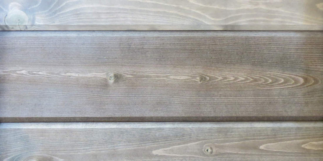 Wicked Wood Pine Paneling - PALMWOOD - Stain plus 2 Clear Coats  (BL14-44)