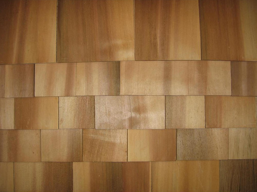 Perfection #1 Western Red Cedar Kiln-Dried 18 inch Shingle