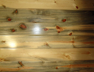 interior wood paneling - BLUE Grandaddy Pine