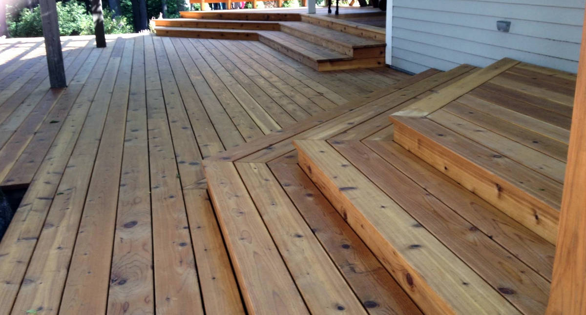 RC Cedar Decking - Mill Select - Factory PreFinished