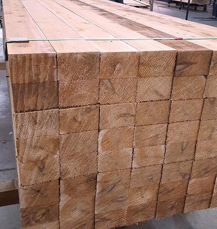 4x6 Cedar Lumber Mill Select Grade