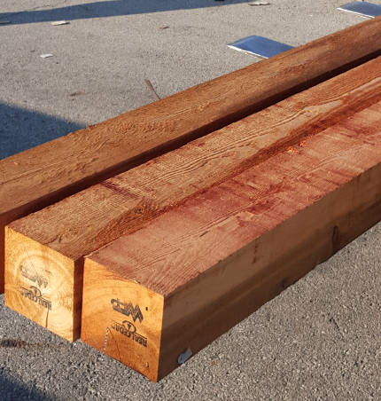 western red cedar 8x8 Cedar Lumber Mill Select Grade