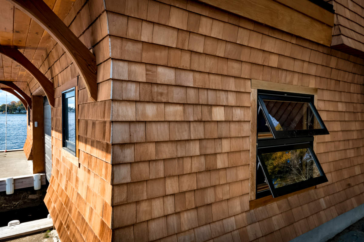 Certigrade® Western Red Cedar Shingle Siding