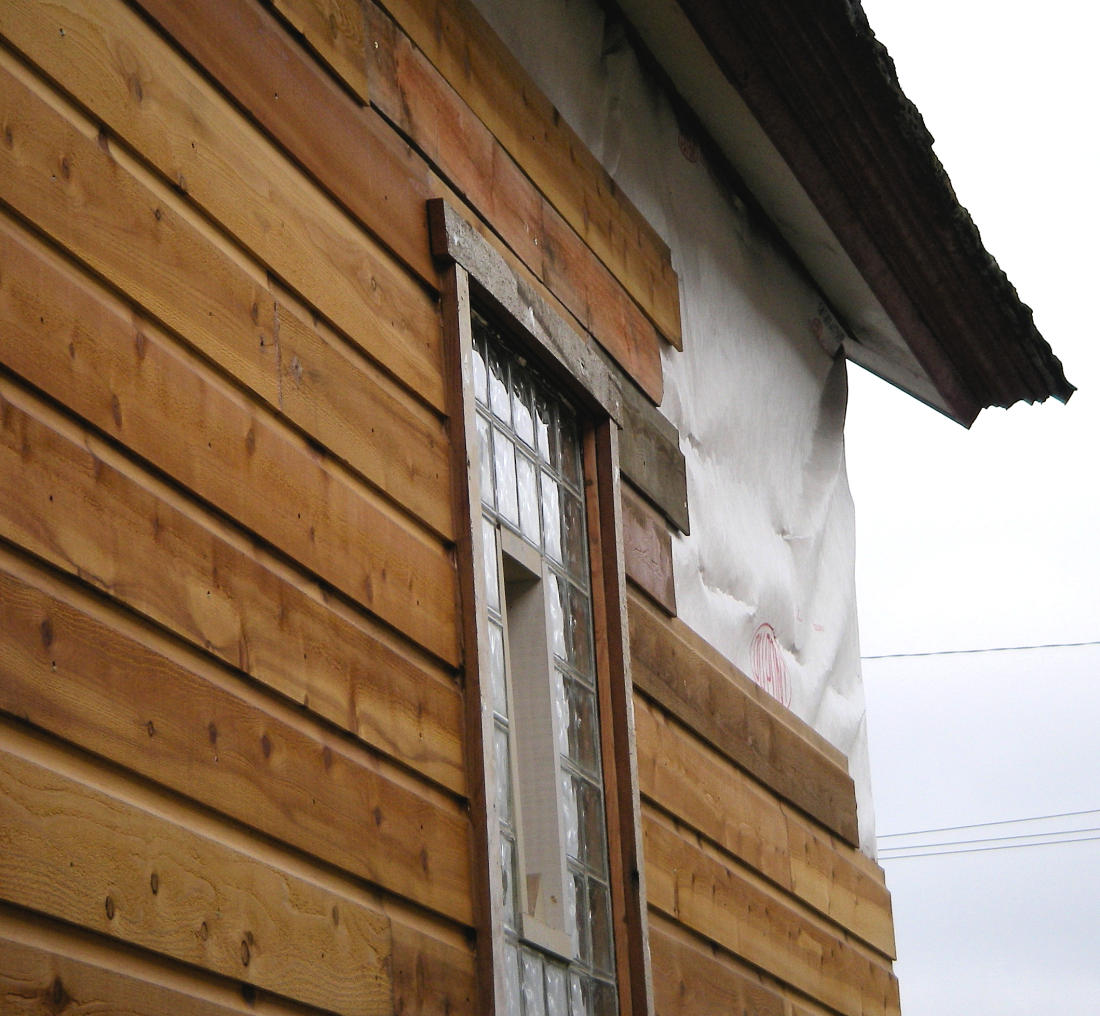 1x8 DUTCH LAP WESTERN RED CEDAR SIDING - CUSTOMER RAN 10 FEET SHORT