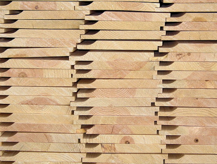 Unit stack of Dutch Lap Siding