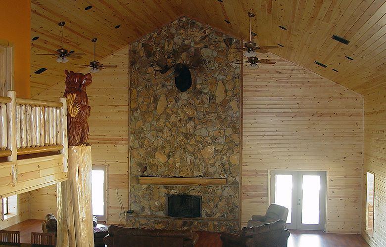Mill Select Interior Pine Paneling Florida