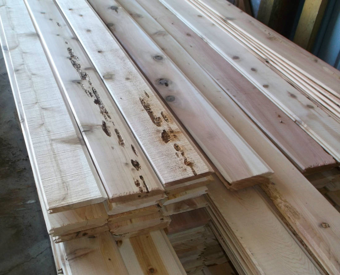 Discount Cedar Siding 1x6 Tongue & Groove