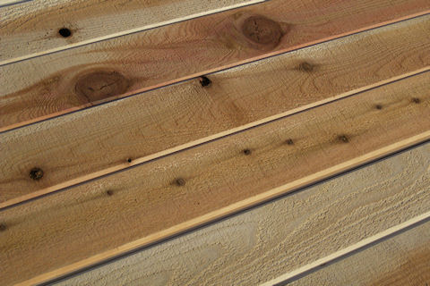 Discount Incense Cedar Siding - ROUGH Face