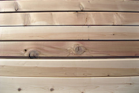 Discount Incense Cedar Siding - SMOOTH Face