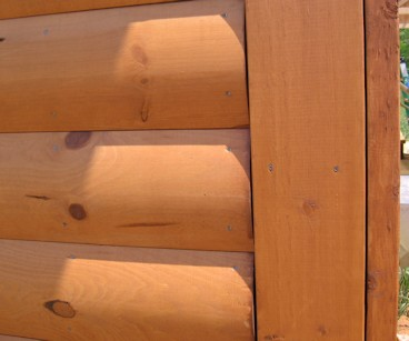 2x8 Cedar Log Siding - STK Grade