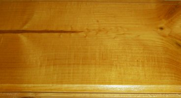 hand stained pine paneling honey pine