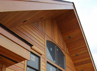1x8 Bevel Redwood Sap B Near Clear Siding