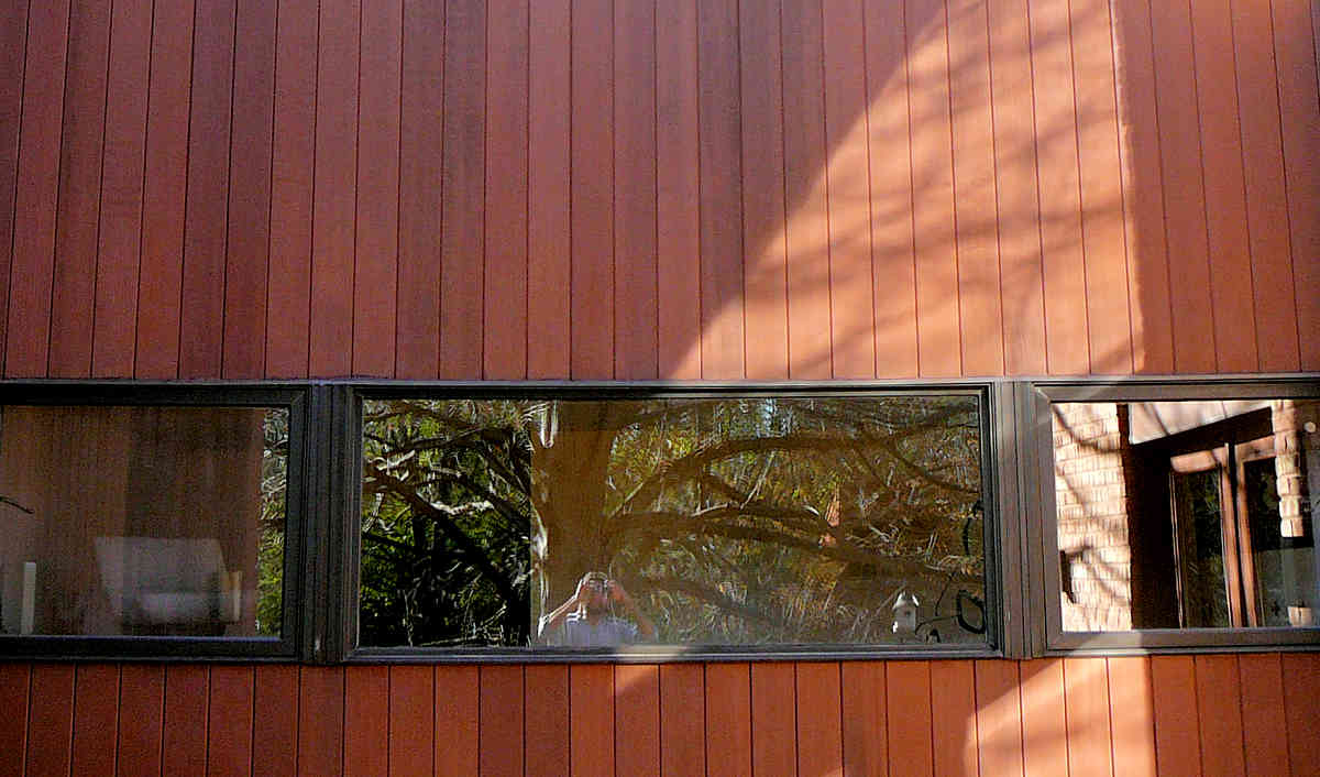 REDWOOD HEART T&G Siding CLEAR ALl HEART (CAH) Grade home in IL
