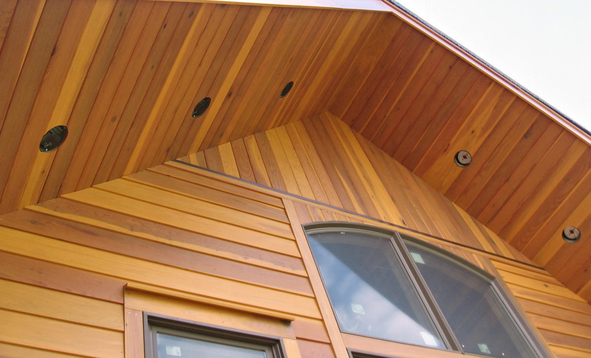 Redwood Siding SAP B Grade - NEAR CLEAR Grade 1x8 Rabbeted Bevel Siding Smooth - New York Home