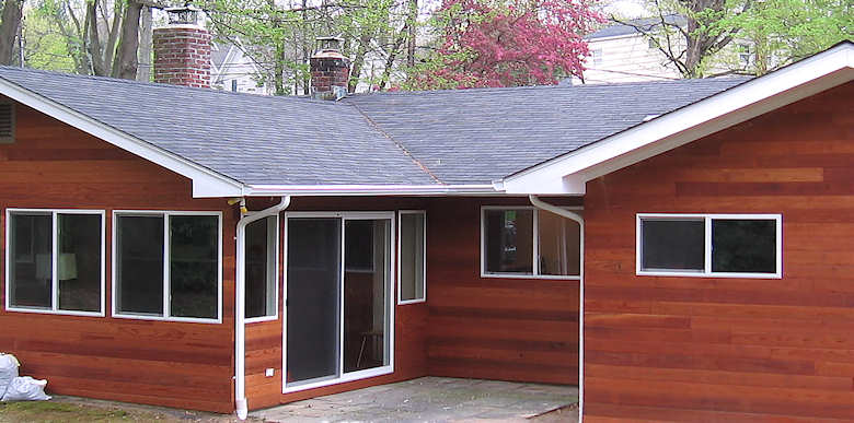 Clear All Heart Redwood Siding