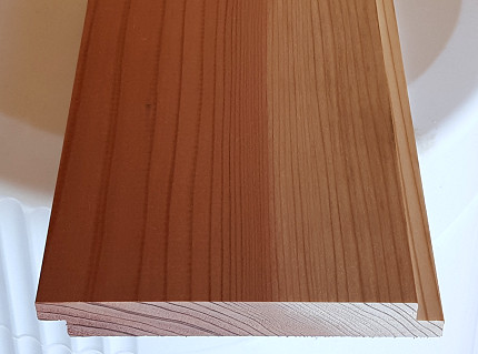 Shiplap Siding standard pattern sample