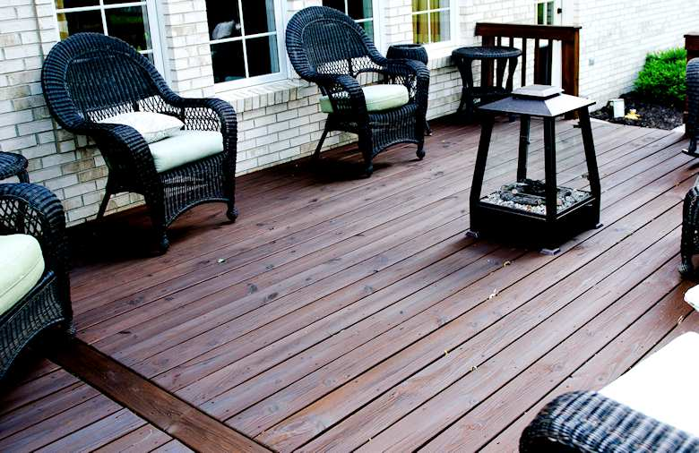 TimberOX Green Oil Based ECO Friendly Decking Stain