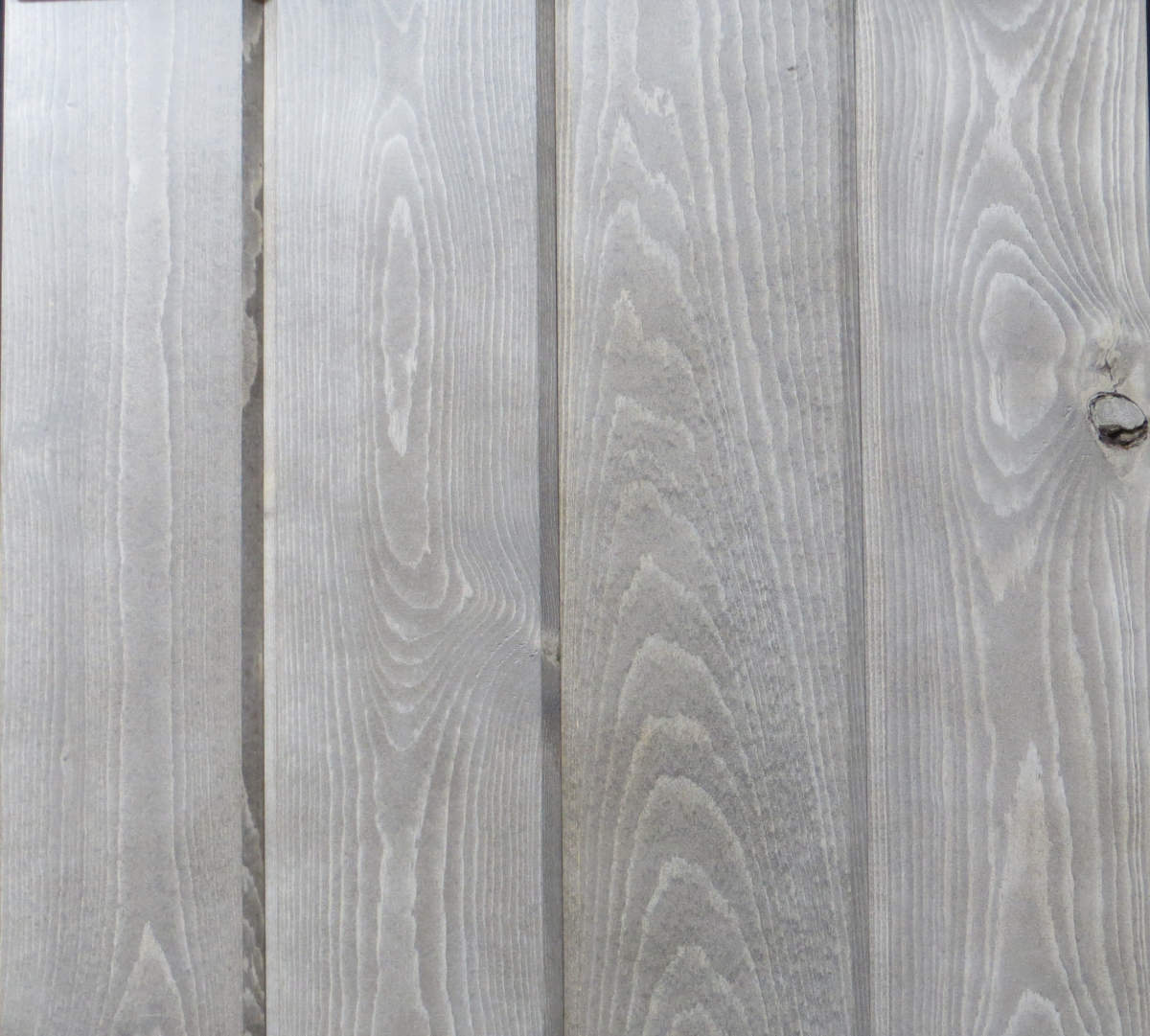 Wicked Wood Pine Paneling - DARK GREYSTONE - Stain plus 2 Clear Coats  (BL08-50)